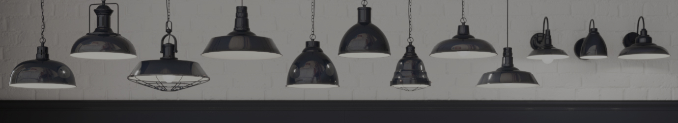 Navy Blue Pendant Lights