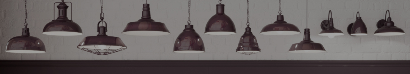 Burgundy Pendant Lights