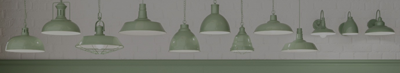 Sage Green Pendant Lights