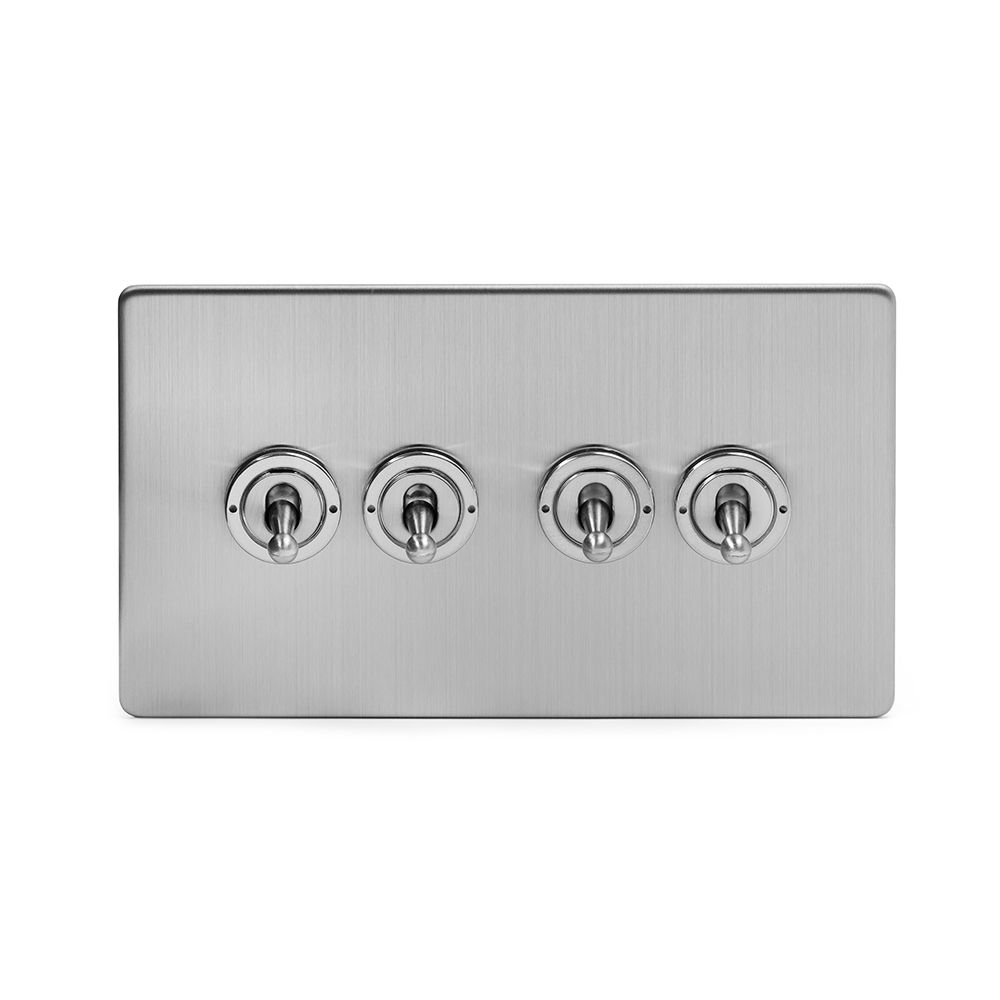 4 Gang Toggle Light Switches