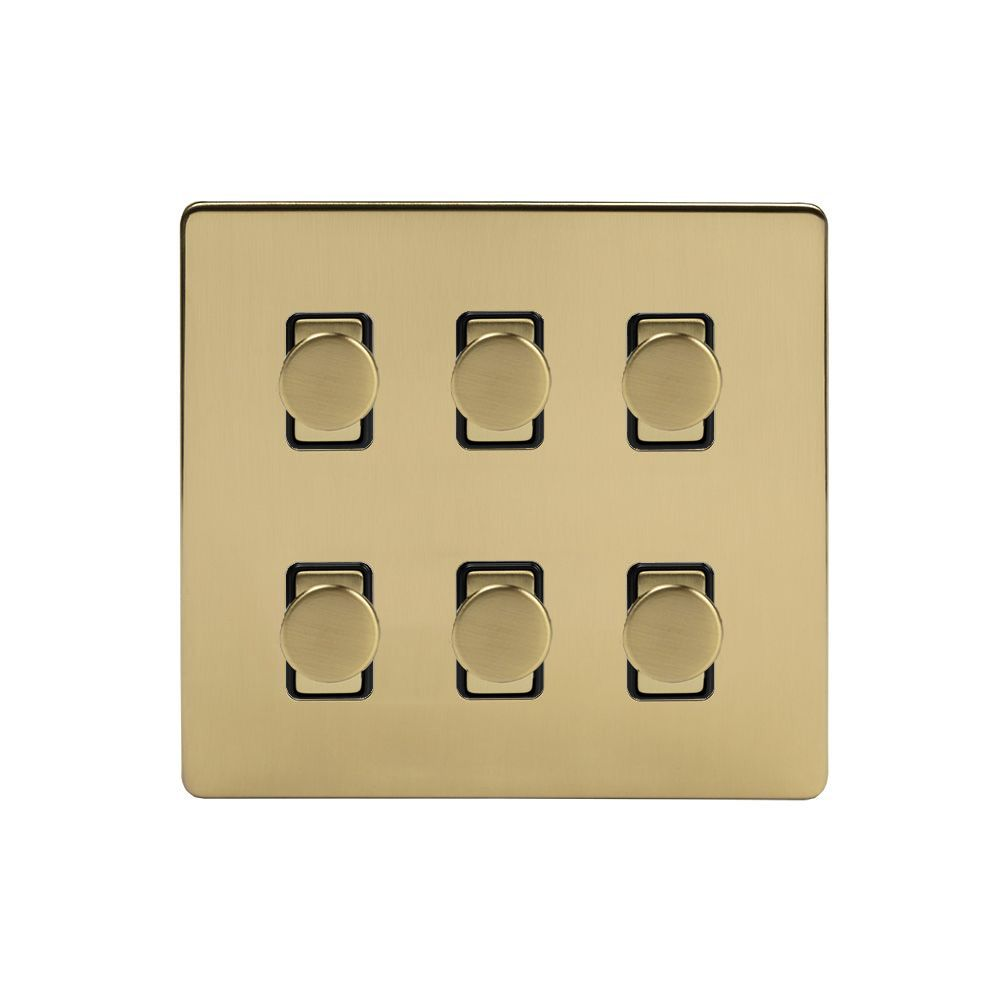 6 Gang Dimmer Switches