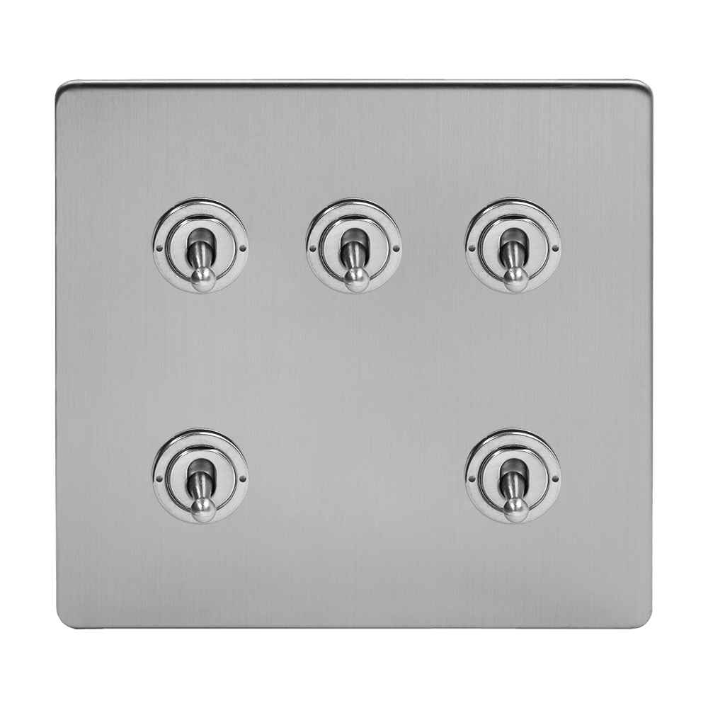 5 Gang Toggle Light Switches