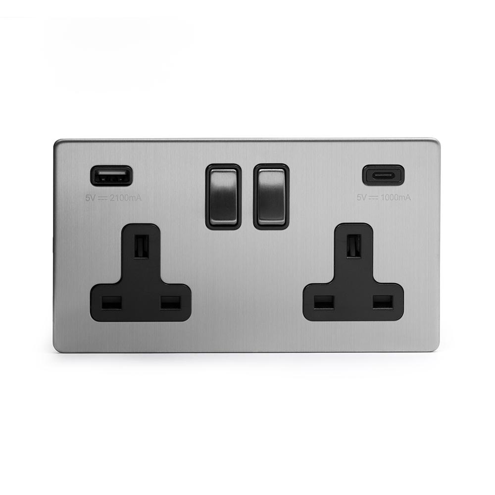 USB A+C Sockets