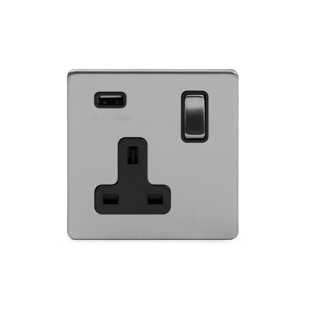 1 Gang USB Sockets