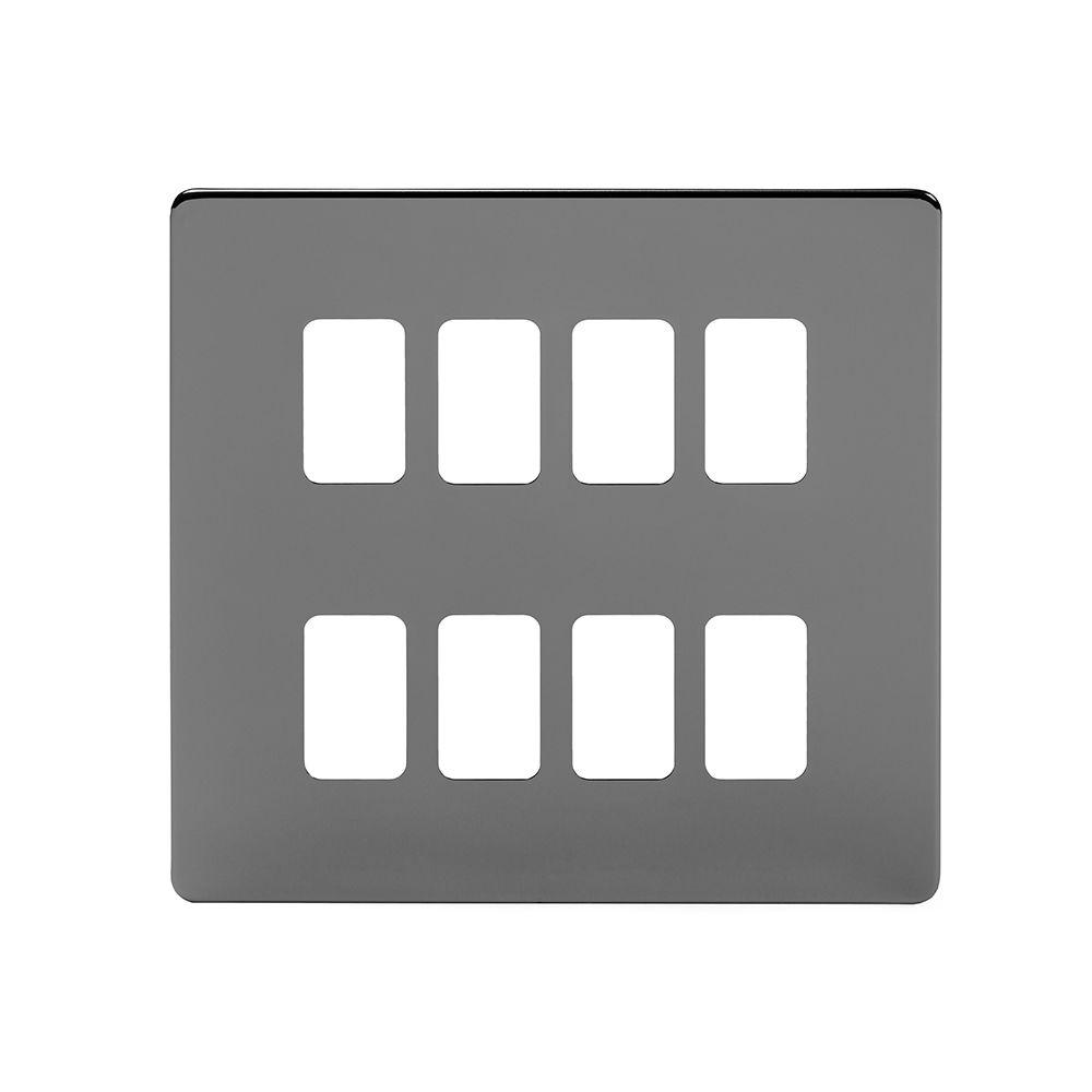 Black Nickel Grid Plates