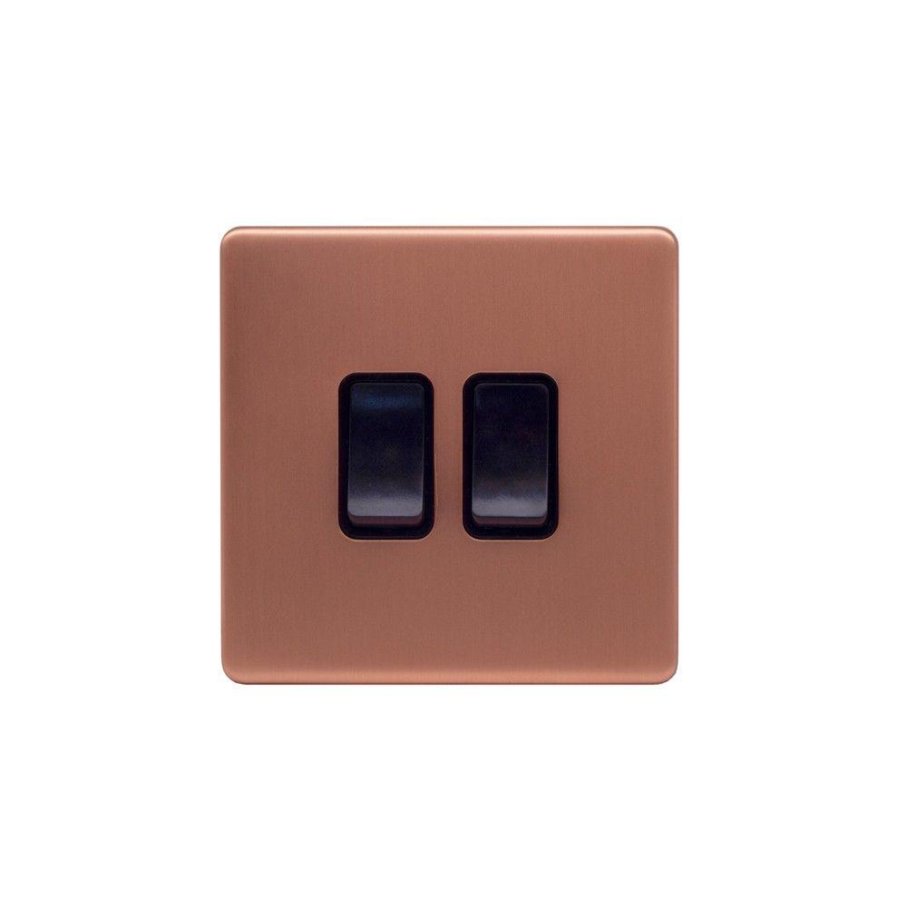 Lieber Brushed Copper & Black