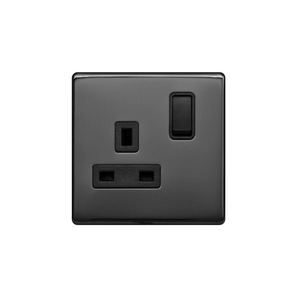 Lieber Black Nickel & Black