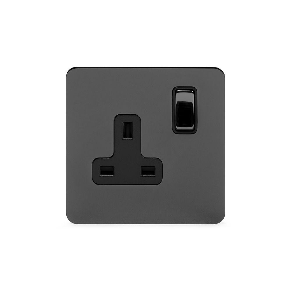 Soho Premium Flat Plate Black Nickel