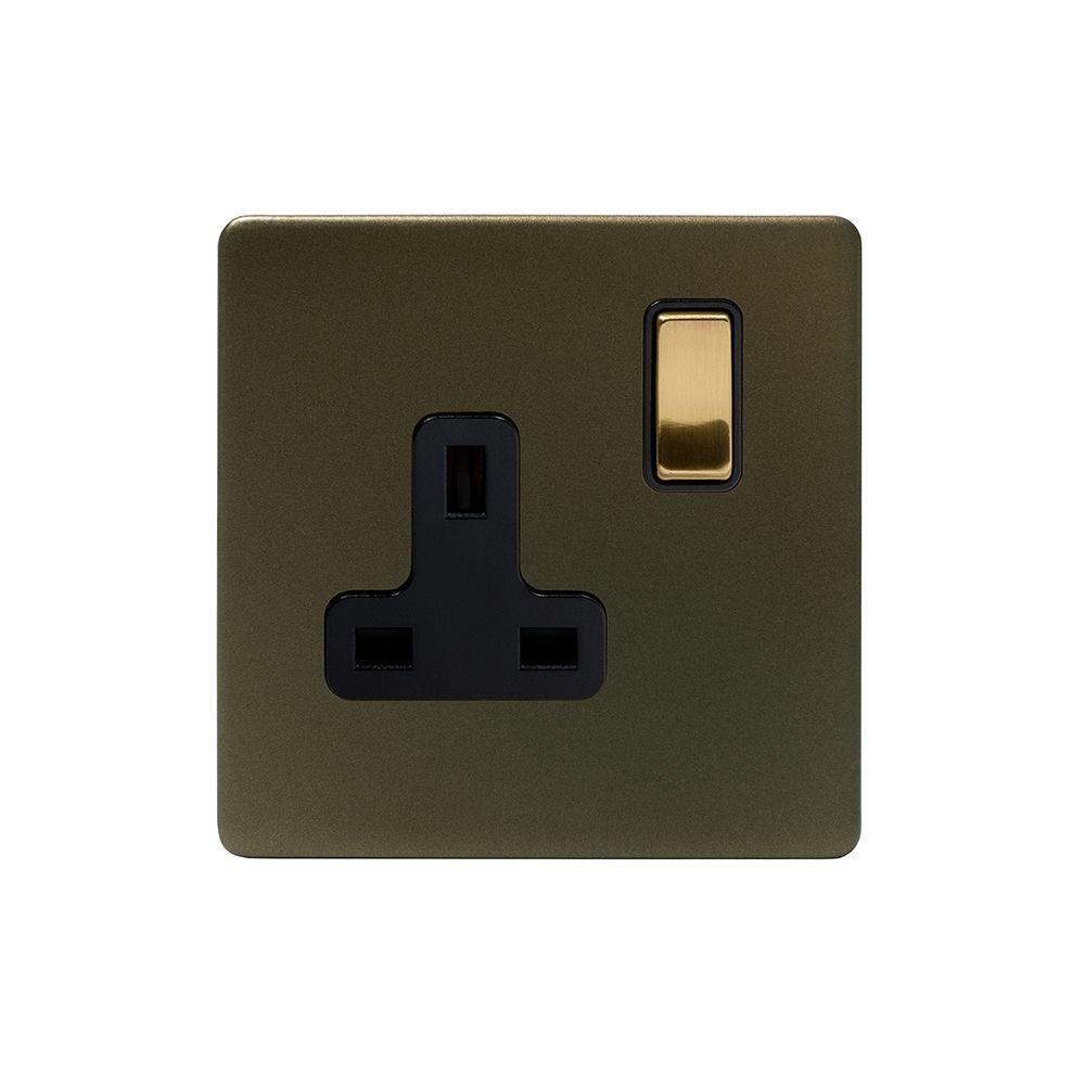 Soho Fusion Bronze & Brushed Brass