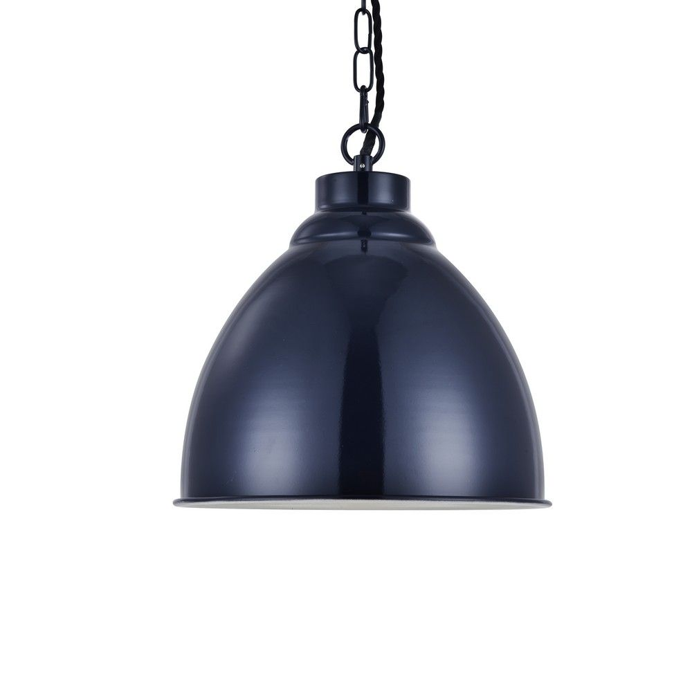 Navy Blue Pendant Lights