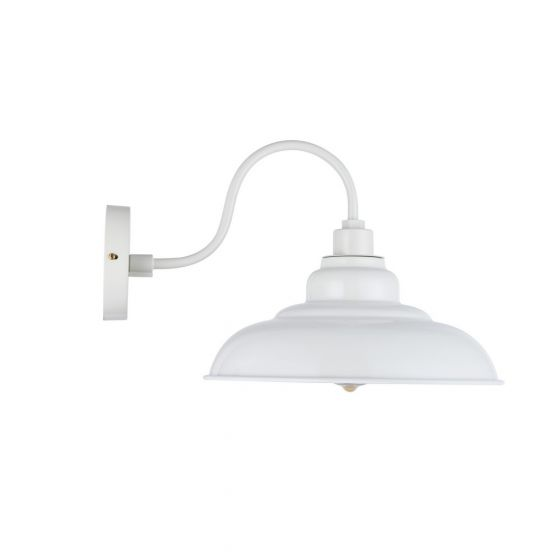 Clay White Wall Light