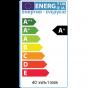 E27 ES Opal GLS LED Light Bulb 8w 3000K Warm White High CRI Dimmable