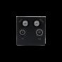 Soho EuroMod SAT1/SAT2/TV/Radio - Black