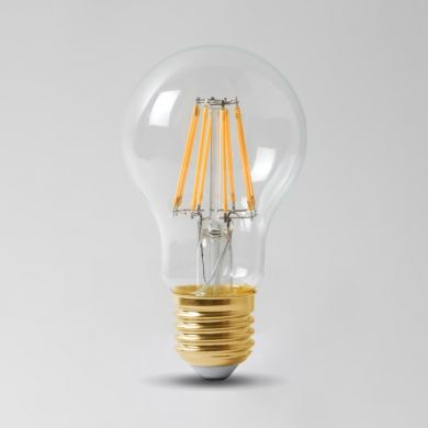 8w E27 3000K Transparent Dimmable