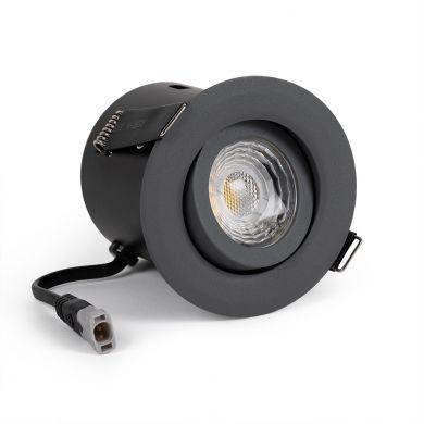 Grey Tilt downlights