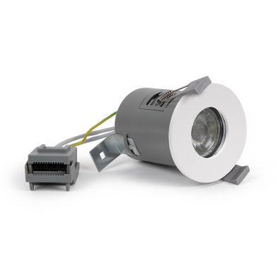 Lieber White GU10 Fire rated IP65 downlight