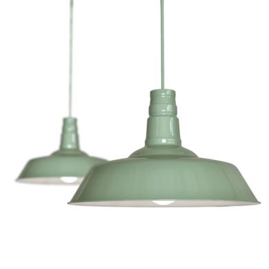 Sage Green Large Pendant Lights