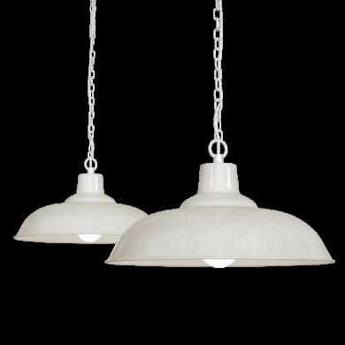 Cream Pendant Light