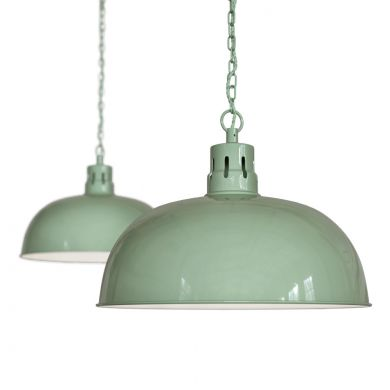 Mint Green Pendant Lights