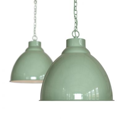 Mint Green Pendant Light