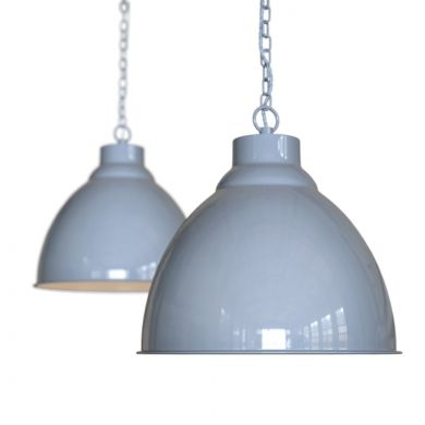 Oxford Vintage Pendant Light French Grey