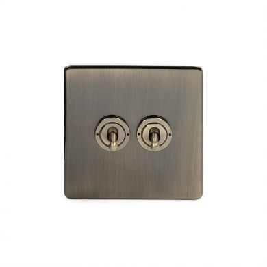 20A 2 Gang Intermediate Toggle Switch