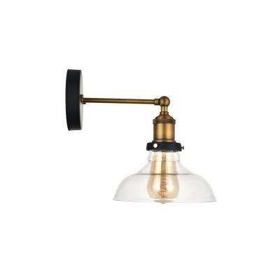 Edison Glass Wall Light