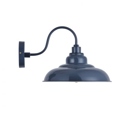 Portland Reclaimed Style Wall Light Leaden Grey