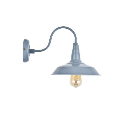Argyll Industrial Wall Light French Grey