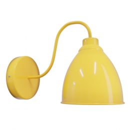 Canary Yellow Wall Light - Oxford Vintage - Soho Lighting