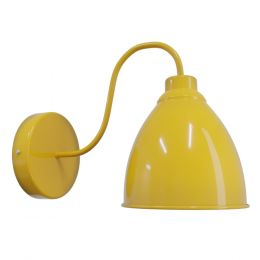 Mustard Wall Light - Oxford Vintage - Soho Lighting