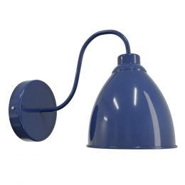 Purple Blue Wall Light - Oxford Vintage - Soho Lighting