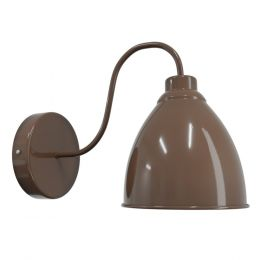 Brown Wall Light - Oxford Vintage - Soho Lighting