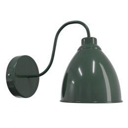 dark green wall light