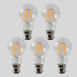 8w B22 4100K Bulb GLS