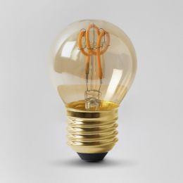 Vintage style Edison LED golf ball bulb