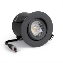 Grey Adjustable Downlights