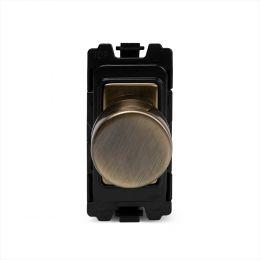 Soho Lighting Antique Brass 6A Dummy RM-Grid Dimmer Switch Mod