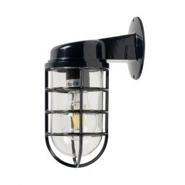 Navy Blue Bathroom Wall Light IP44