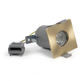 Brushed Brass Square Downlights