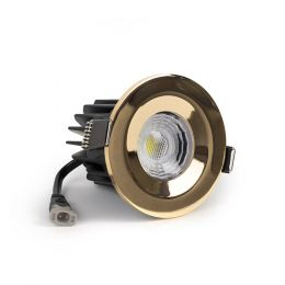 Polished Brass LED Downlight