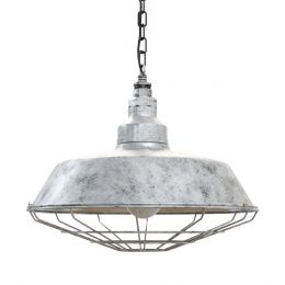 Galvanised Pendant Light