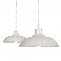 Cream Pendant Light