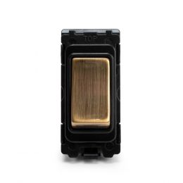 Soho-Lighting-Antique-Brass-2-Way-Off-Retractive-Grid-Switch