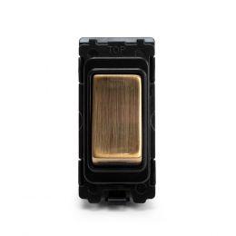 Soho-Lighting-Antique-Brass-20AX-Double-Pole-Grid-Switch