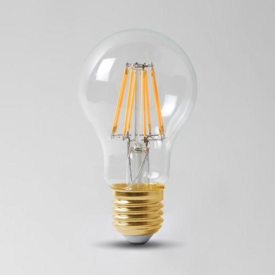 E27 GLS LED Light Bulb 8w  4100K Clear High CRI Dimmable ES Edison Screw