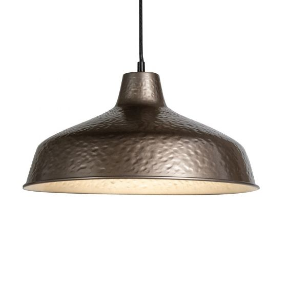 Bronze Industrial Breakfast Bar Pendant Light