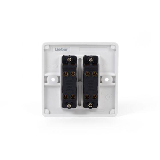 2 gang intermediate switch