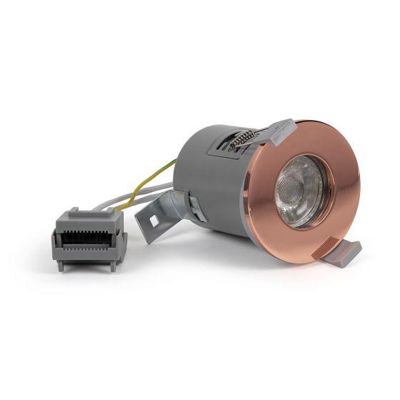 Copper GU10 Downlights