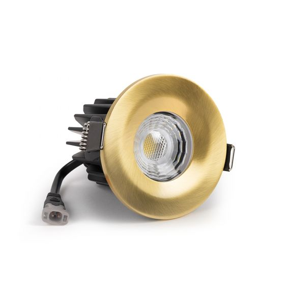 brushed brass Downlights LED
